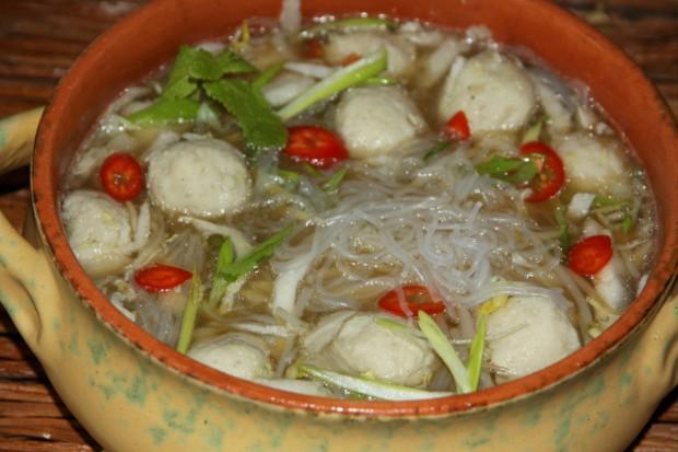 Суп с фрикадельками из хека