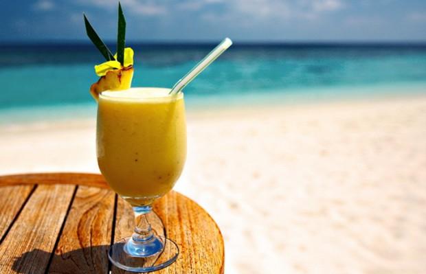 Рецепт освежающего бананового коктейля