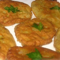 Рецепт капустных оладей