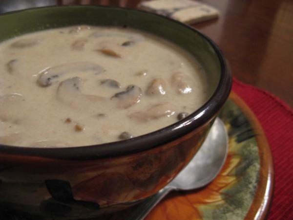 Рецепт грибного супа-пюре для мультиварки