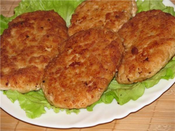 Рецепт мясных котлет с тыквой