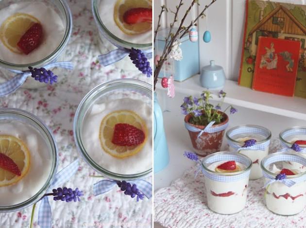 Рецепт лимонно-творожного крема