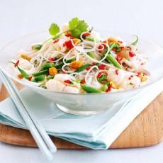 Салат с кальмарами рецепт с фото