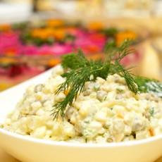Зимний салат рецепт