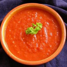 Итальянский холодный томатный соус