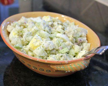 Острый грузинский салат из цветной капусты