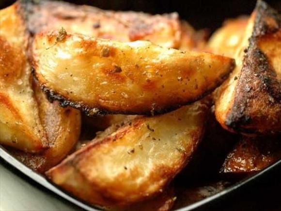 Пасхальный картофель по-гречески