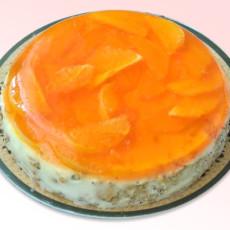 Фруктовый торт без выпечки