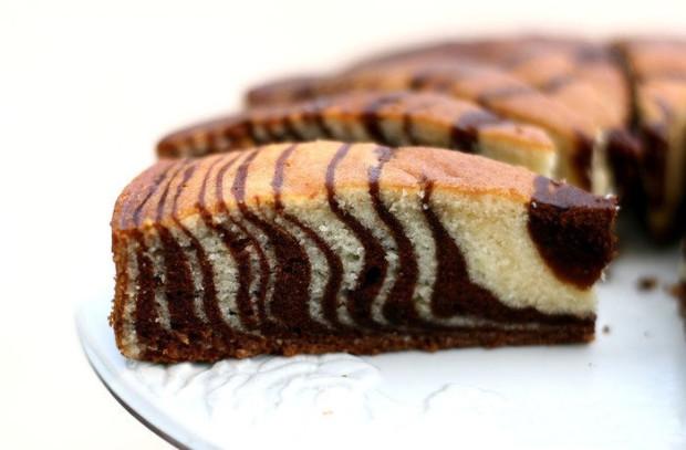 Торт зебра пошаговый рецепт