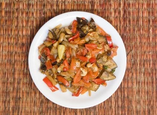 Запеченые овощи по-итальянски