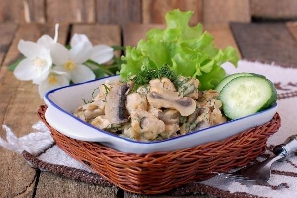 рецепты курица с грибами в мультиварке рецепты