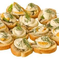Бутерброды из кильки