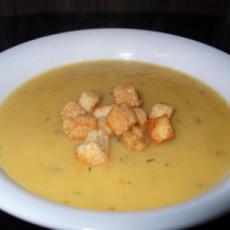 Картофельный суп-пюре с курицей