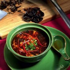 Китайский кисло-сладкий острый суп
