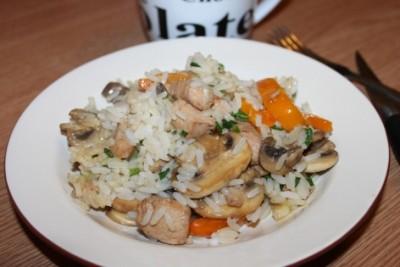 Рис по - китайски