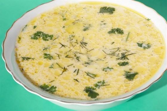 Суп из плавленых сырков