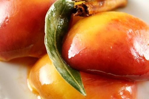 Медовые персики по‑китайски