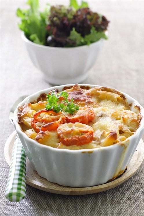 Макароны с помидорами и сыром рецепт с фото пошагово