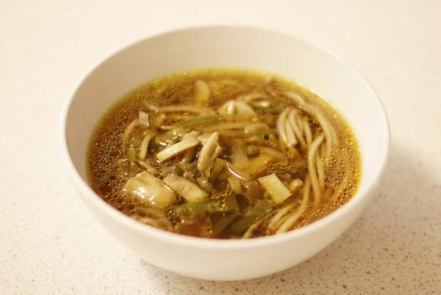 Грибной суп по‑китайски