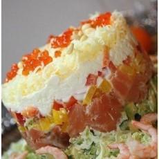 Тортик из семги