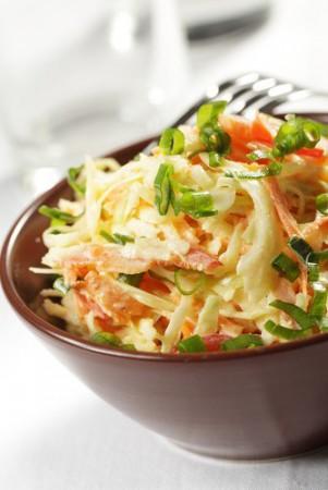 Салат из капусты в южном стиле