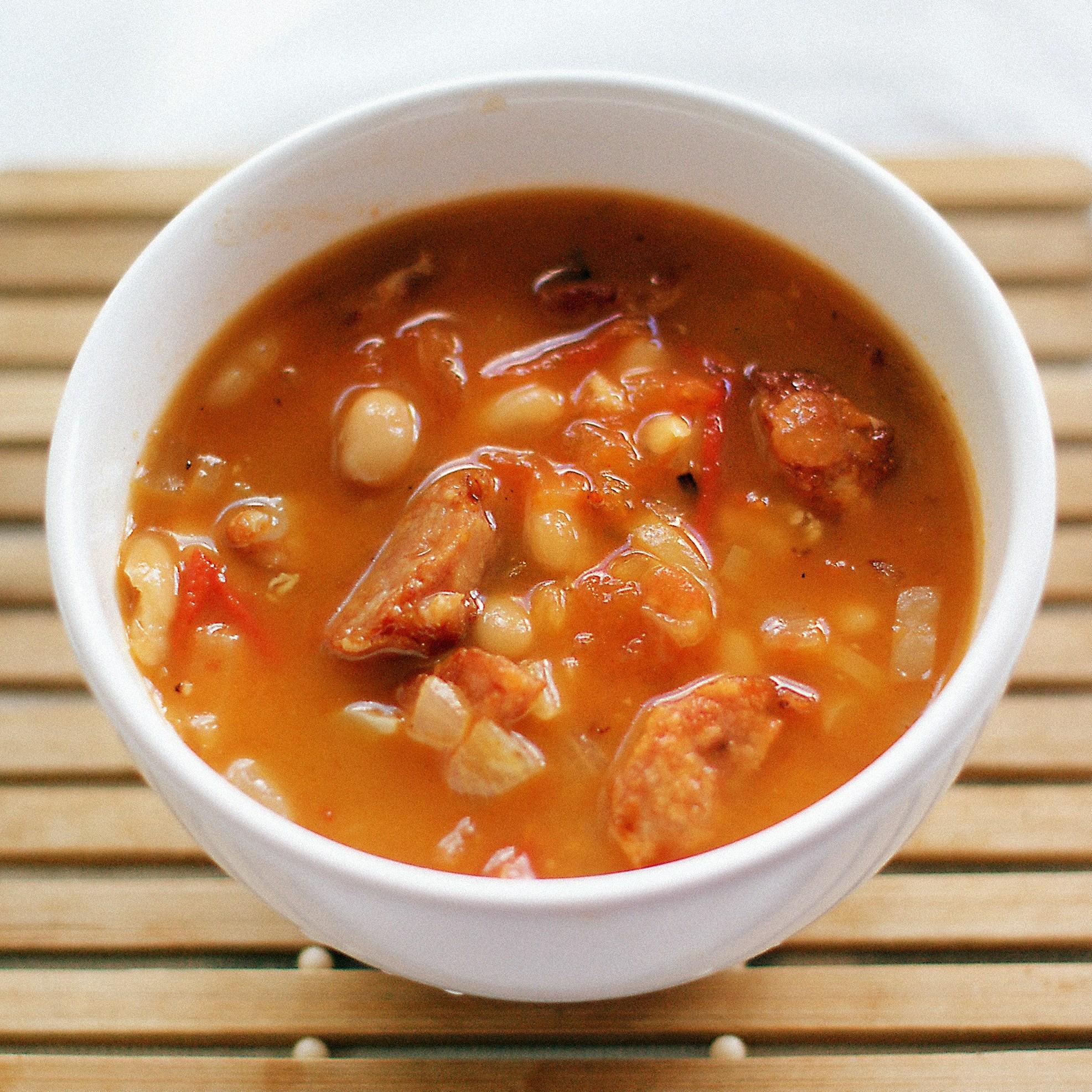 рецепт итальянский суп с пармезаном