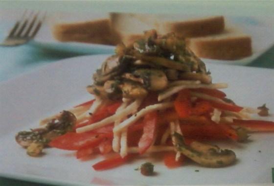 Грибной салат по‑еревански