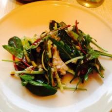 Салат с авокадо и треской