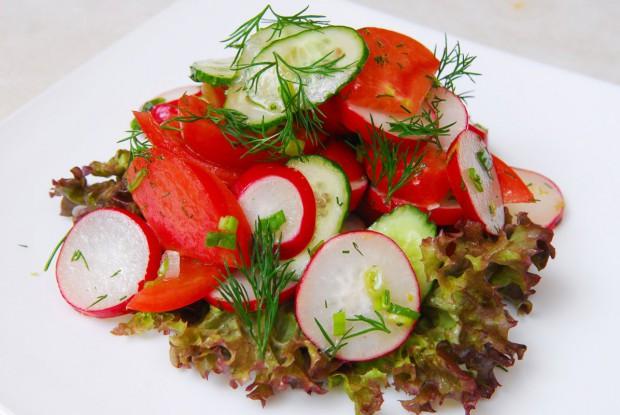 Вкусный донской салат