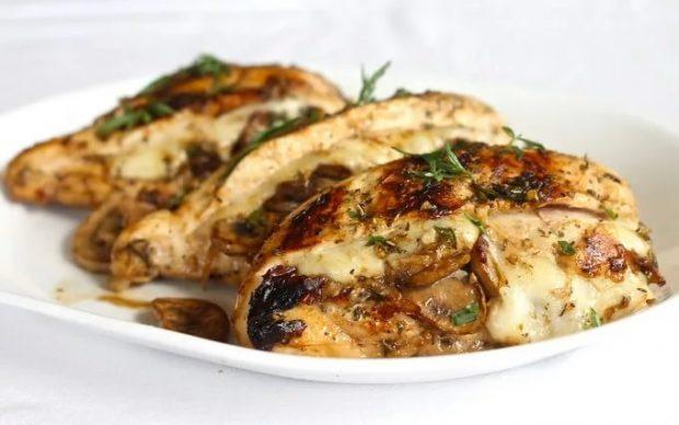Фаршированное куриное филе