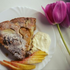 Нормандский грушевый пирог