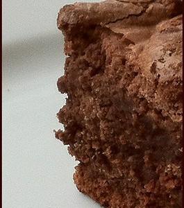 Пирог четыре четверти с шоколадом