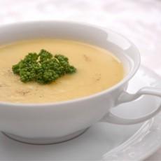 Сырный крем-суп со специями