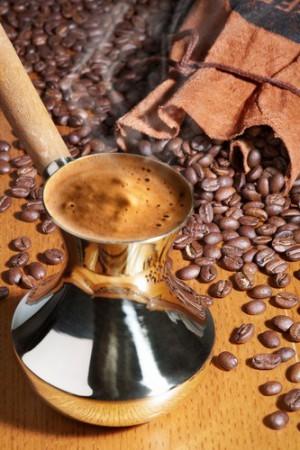 Турецкий черный кофе