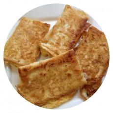 Жареный сыр в лаваше