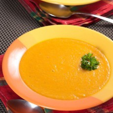Морковный суп-пюре с карри