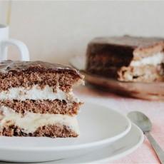 Торт «Три крема»