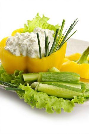 Творожный салат