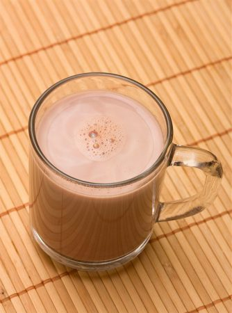 Горячий шоколад с ванилью