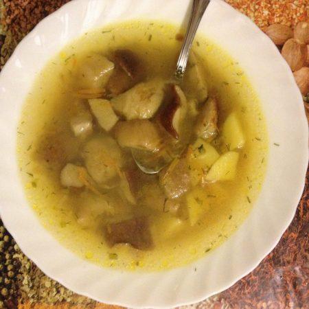 Суп из белых грибов