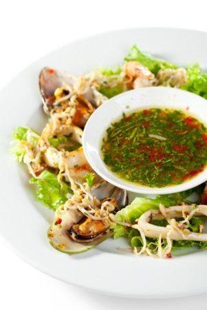 Азиатский соус из кинзы