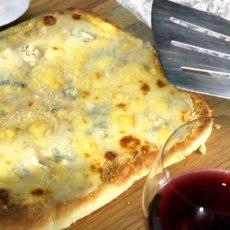 Пицца «Четыре сыра»