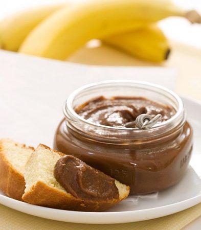 Шоколадно-банановый джем.
