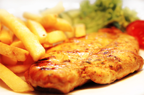 Бифштекс из курицы