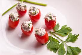Сладкие фаршированные помидоры черри
