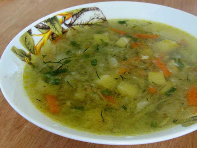 Суп из квашеной капусты с мясом рецепт