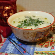 Похмельный кисломолочный суп