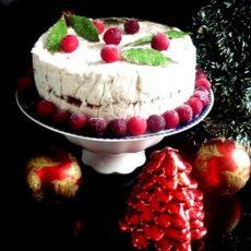 Рождественский торт из сухофруктов