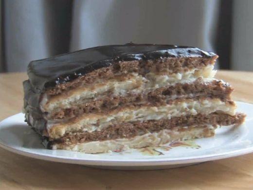 Торт «Мишка» сметанный