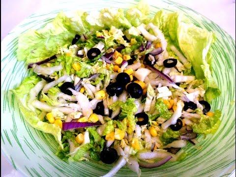 Салат «Легкий» с пекинской капустой